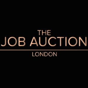 The Job Auction Black Logo