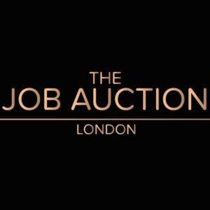The Job Auction Black Logo