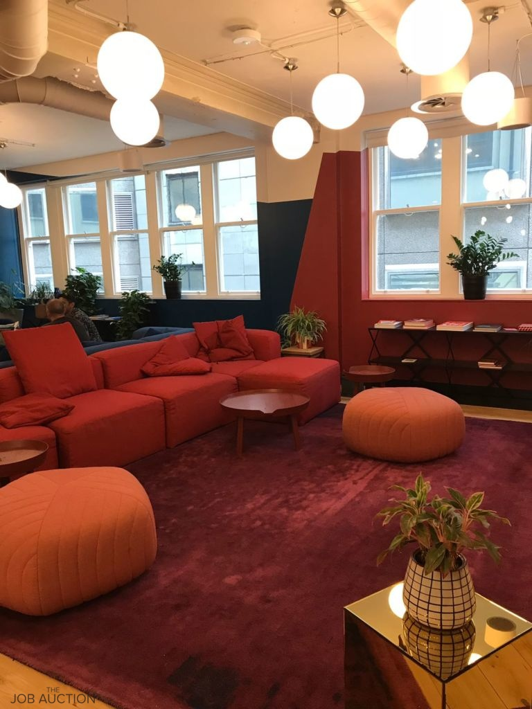 A Day at WeWork