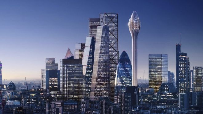 London Skyline's Newest Addition: The Tulip